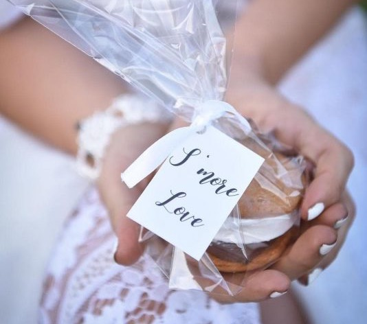 S'mores Wedding Favours