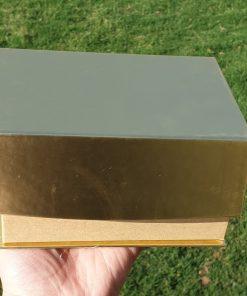 24k Gold Marshmallow Box Closed