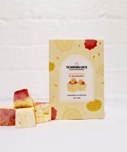 Passionfruit & Raspberry Marshmallows
